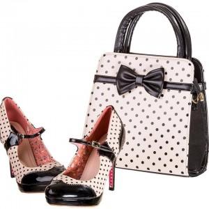 Banned Apparel Polka Dot Shoes and Bag