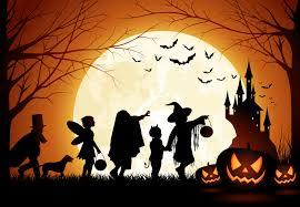 history of halloween graphics